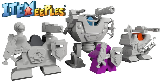Tiny Epic Mechs – Battle Royale With Meeples Riding Giant Mechs