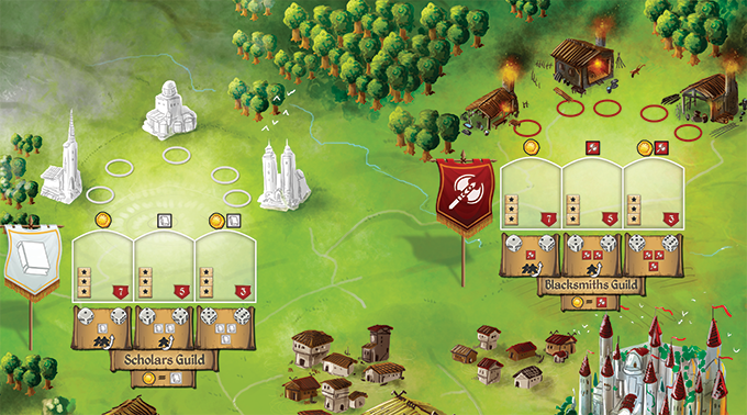 Rise to Nobility – Reprint and Expansion Now on Kickstarter