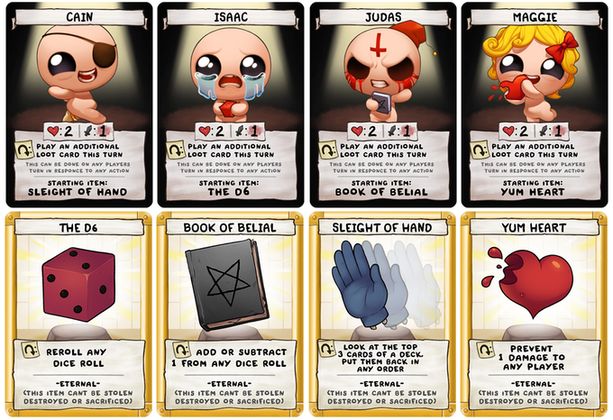 The Binding of Isaac: Four Souls – From Bytes to Cardboard