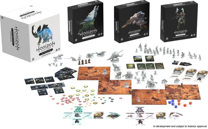 Horizon Zero Dawn the Board Game Reaches $1,000,000 on Kickstarter
