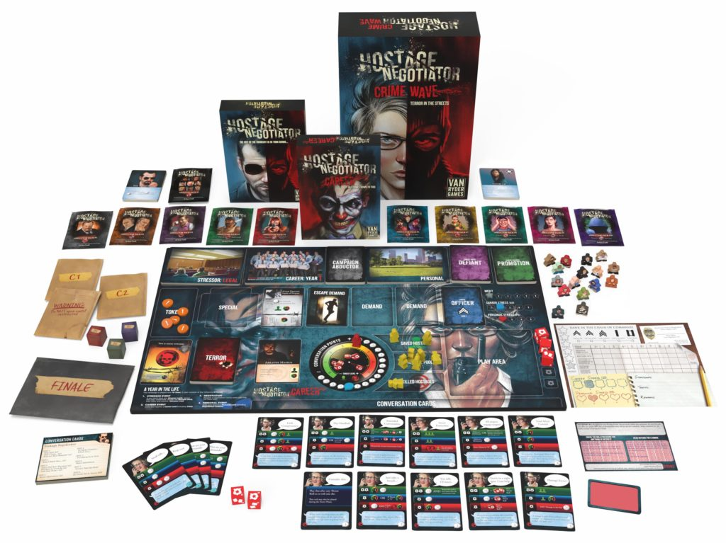 Hostage Negotiator: Career – Final Expansion to the Award Winning Solo Game!