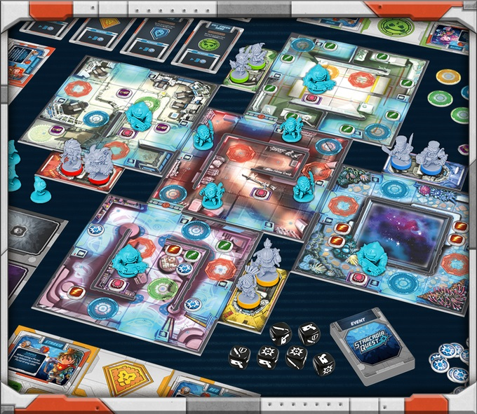 Starcadia Quest – Another CMON Franchise Goes to Space
