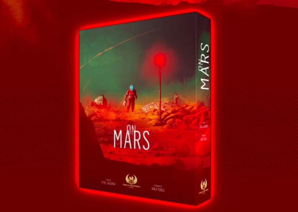On Mars – Vital Lacerda's Space Journey
