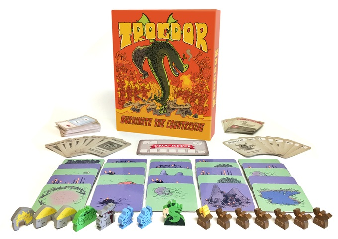 Trogdor!! the Board Game – Area Control Served Burnt