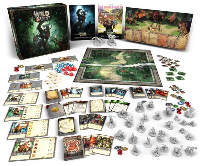 Wild Assent – Two Heavy Games in One Box