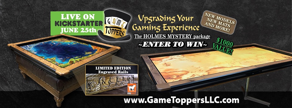Game Toppers 2.0 - The Holmes Mystery package Giveaway