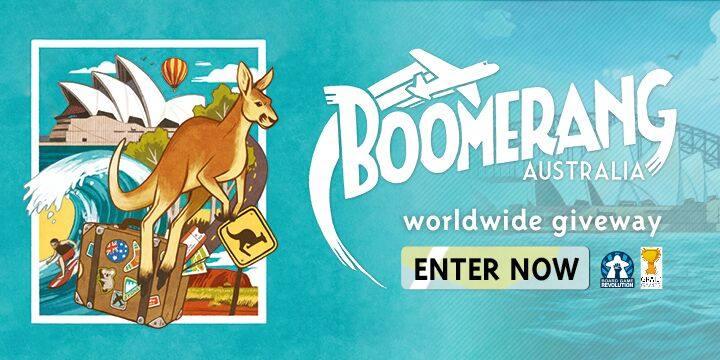 Boomerang | Worldwide Giveaway