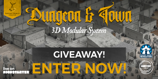 Dungeon & Town Giveaway