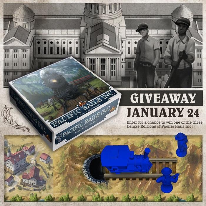 Pacific Rails Inc. – Deluxe Kickstarter Giveaway
