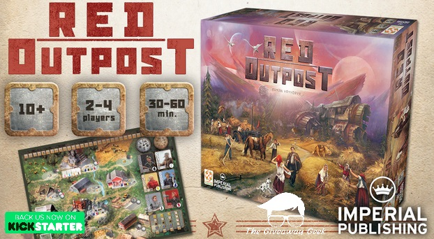 Red Outpost: the 1-4 Player Communist Utopia Board Game Giveaway