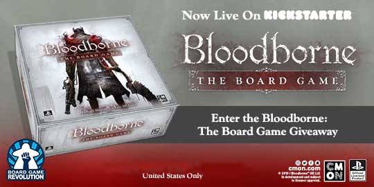 Bloodborne The Boardgame Giveaway