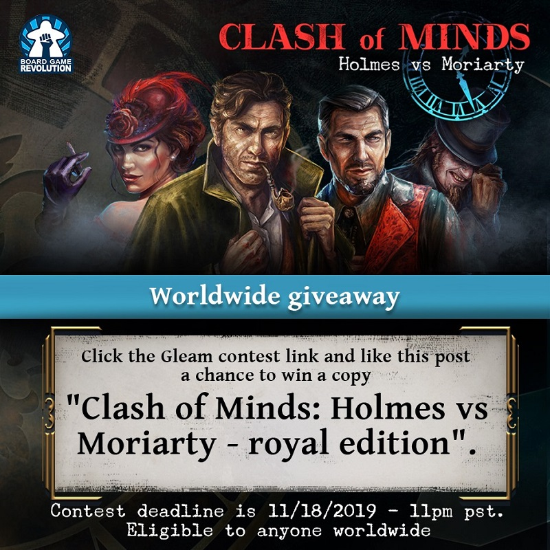 Clash of Minds | Worldwide Giveaway