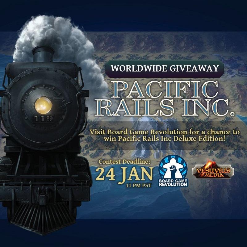 Pacific Rails Inc | Worldwide Giveaway