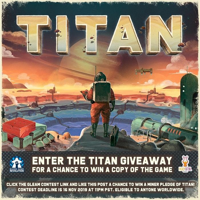 Titan | Worldwide Giveaway