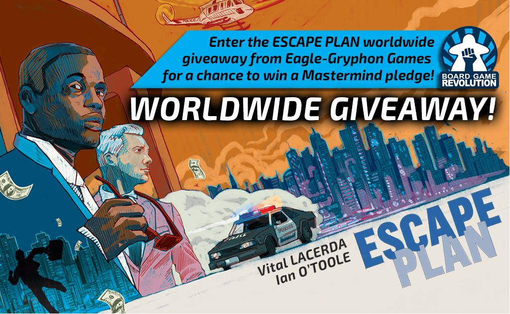 Escape Plan Giveaway
