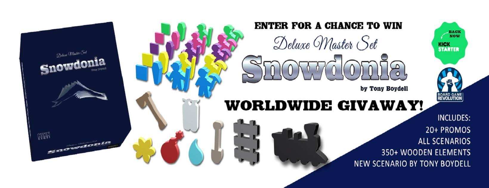 Snowdonia Giveaway