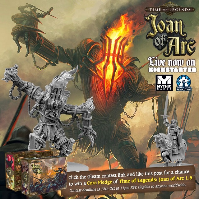Joan of Arc Giveaway