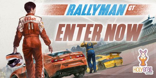 Rallyman GT Giveaway [Deadline]