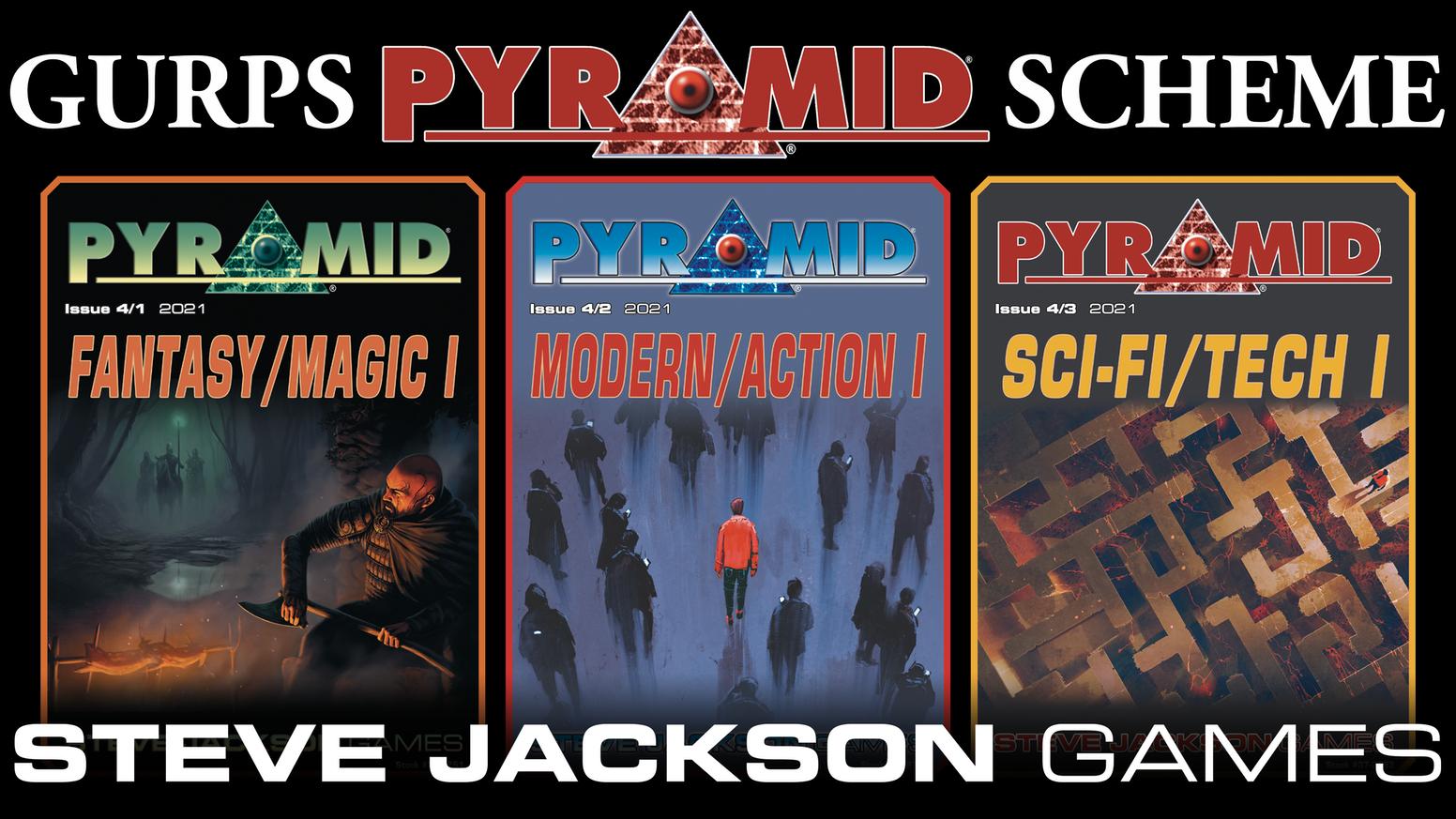 Steve Jackson Games  GURPS Pyramid Scheme