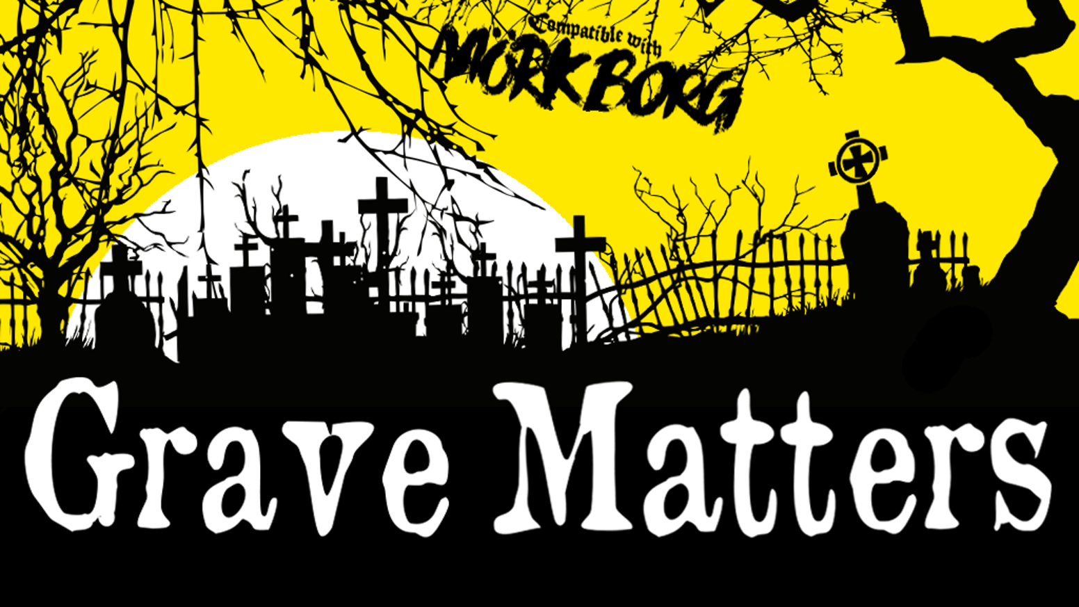 Grave Matters, a new skeletal expansion for Mörk Borg