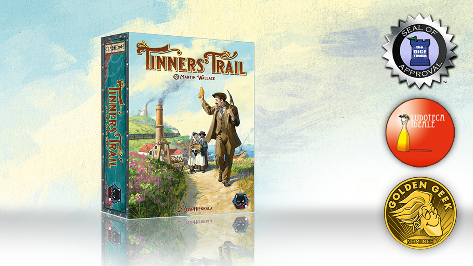 Tinners  Trail - a game by Martin Wallace
