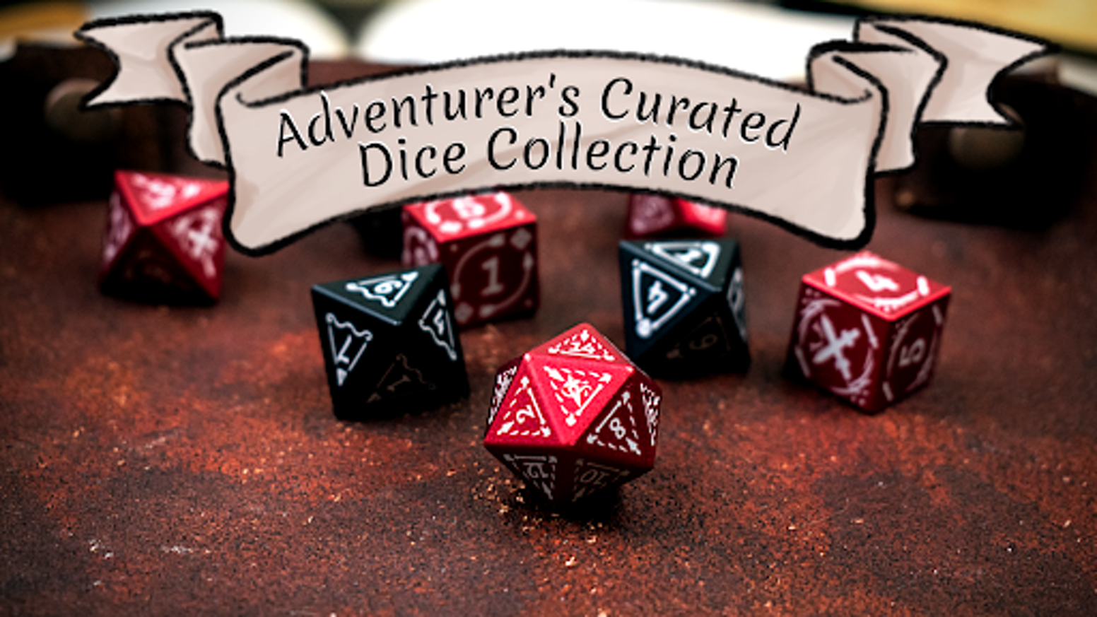 Adventurer s Curated Dice Collection by Level Up Dice