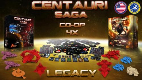 Centauri Saga: Season 1