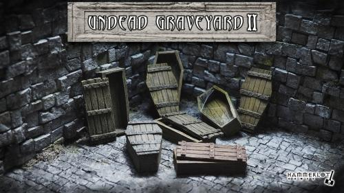 Undead Graveyard II - Scenery for RPG and Wargames