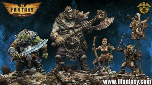 First Legion Heroic Scale 28mm Fantasy Figures