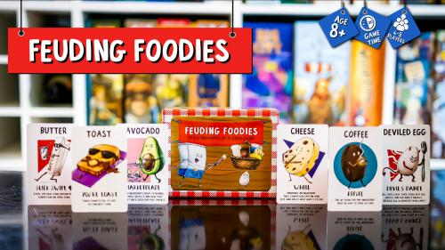 Feuding Foodies - The Card Game