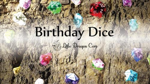 Birthday Gemstone Dice