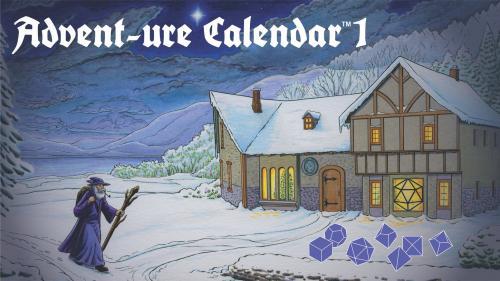 Polyhedral Dice Advent-ure Calendar 1