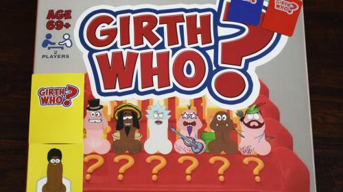 Girth Who?  - A penis based  Guess Who?  parody game