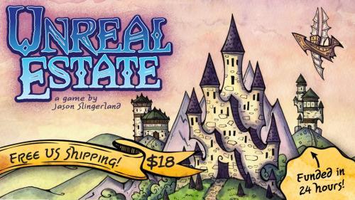 Unreal Estate - A Fantasy Cityscape Card Game