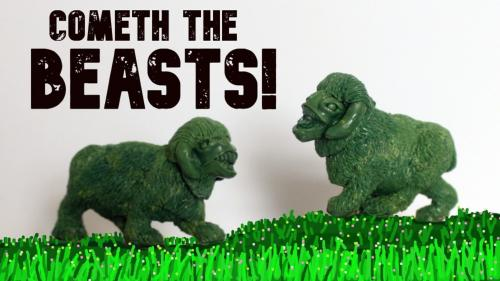 Cometh The Beasts! For Fantasy and Sci-Fi gaming.