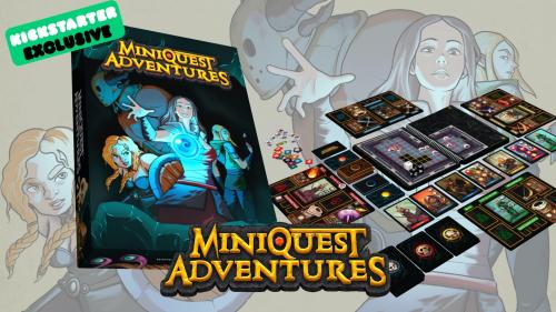 MiniQuest Adventures - The Board Book Game