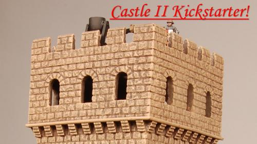 Castle II Kickstarter from Miniature Building Authority