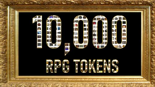 10,000 Tokens for Fantasy RPG