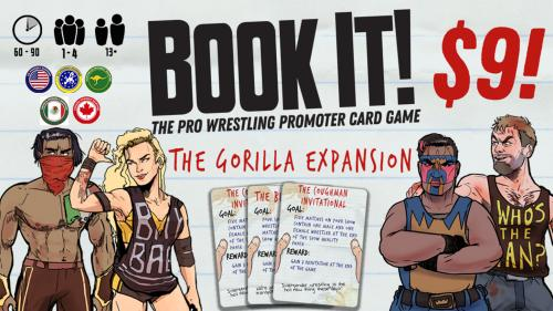Book It! Expansion 1: The Gorilla Expansion