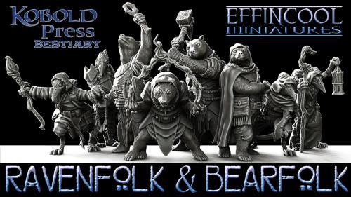 Kobold Press Bestiary-Iconic Races of Midgard Part I