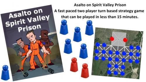 Asalto on Spirit Valley Prison Board Game
