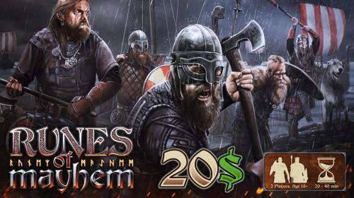 Runes of Mayhem - The Tactical Viking Game: Relaunch