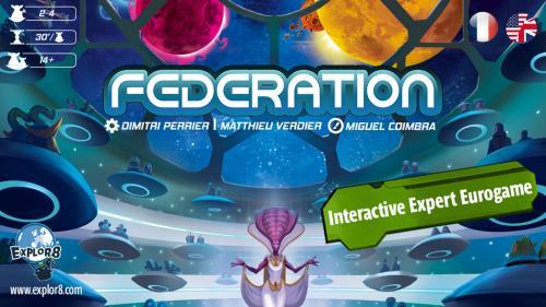 Federation - Boardgame