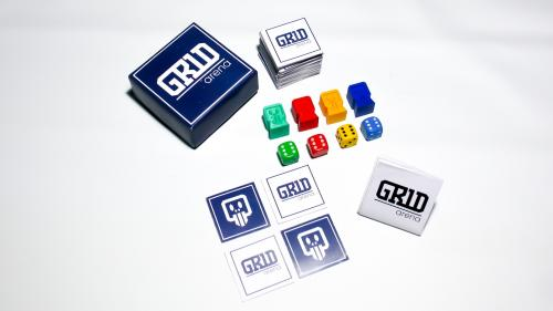 GR1D Arena - A tabletop game where YOU build the board
