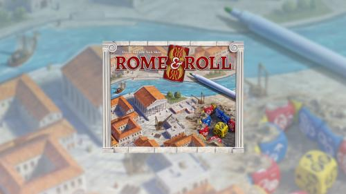 Rome & Roll: A roll and write eurogame