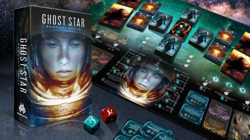 Ghost Star - A solo board game you won t want to play alone