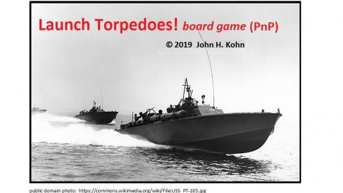 Launch Torpedoes! (PnP)