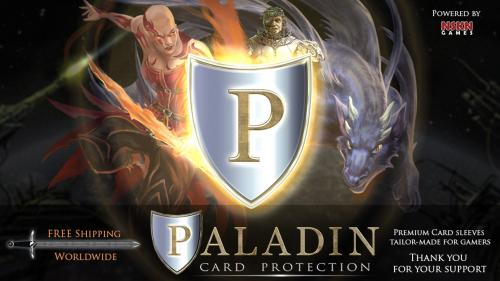 Paladin Card Protectors - Premium Sleeves for Gamers