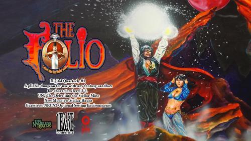 The Folio: Digital Quarterly #4 1E/5E adventure module!