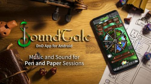 SoundTale - Sound and Music App for DnD and Pathfinder